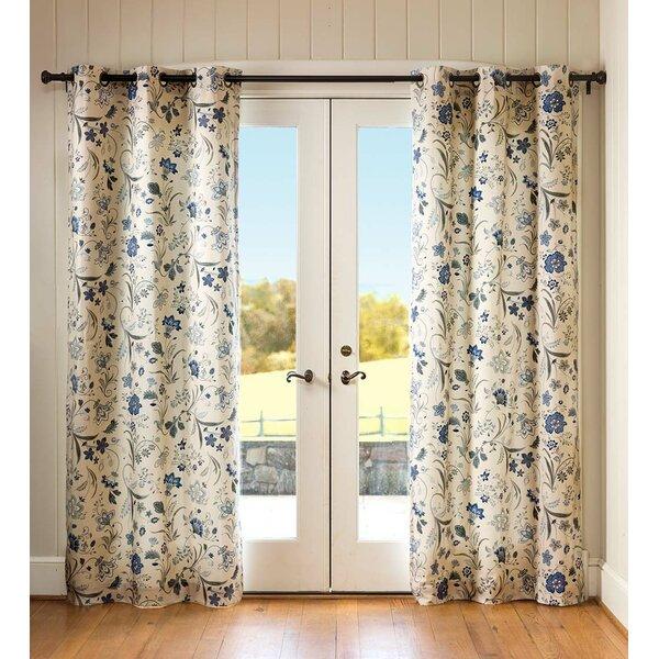 Cynthia Jacobean Curtains | Wayfair In Cynthia Jacobean Room Darkening Curtain Panel Pairs (#9 of 41)