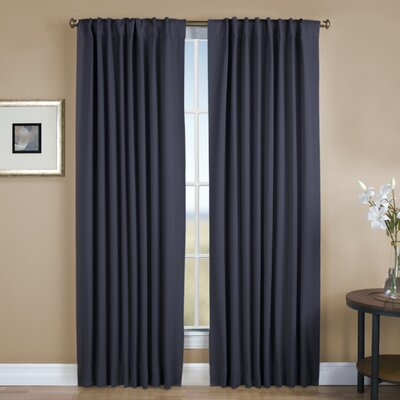 Inspiration about Darby Home Co Sallie Solid Blackout Thermal Rod Pocket Regarding Tacoma Double Blackout Grommet Curtain Panels (#18 of 48)