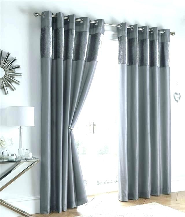 Inspiration about Dark Grey Silk Curtains – Wedding Books In Off White Vintage Faux Textured Silk Curtains (#42 of 50)
