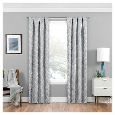 """Darrell Thermaweave Blackout Curtain Paneleclipse; 37""""w Throughout Eclipse Darrell Thermaweave Blackout Window Curtain Panels (#7 of 50)"""