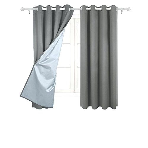 Deconovo Blackout Curtains – Thinkvegan Intended For Thermal Insulated Blackout Curtain Pairs (View 27 of 50)