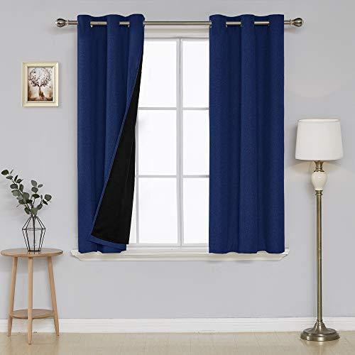 Inspiration about Deconovo Faux Linen Blackout Curtain Panels And 50 Similar Items With Regard To Faux Linen Blackout Curtains (#50 of 50)