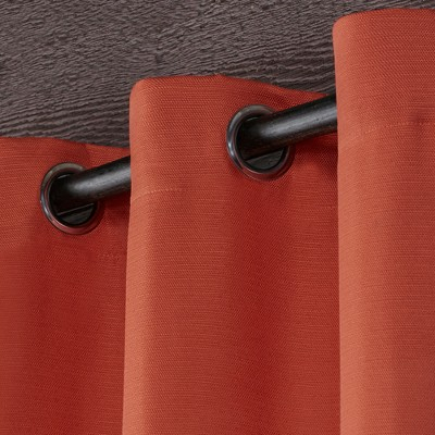 Delano Indoor/outdoor Heavy Textured Grommet Top Window Throughout Delano Indoor/outdoor Grommet Top Curtain Panel Pairs (View 17 of 45)