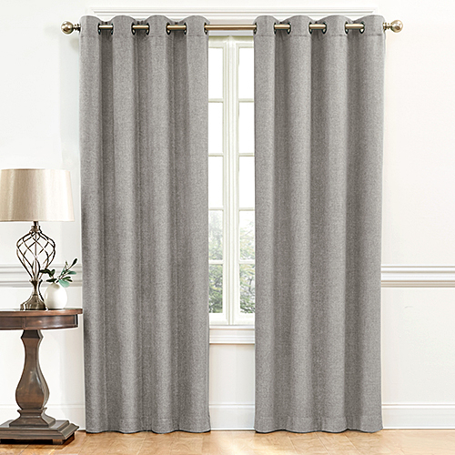 Inspiration about Denver Blackout Grommet Curtain Panel Throughout Blackout Grommet Curtain Panels (#4 of 40)
