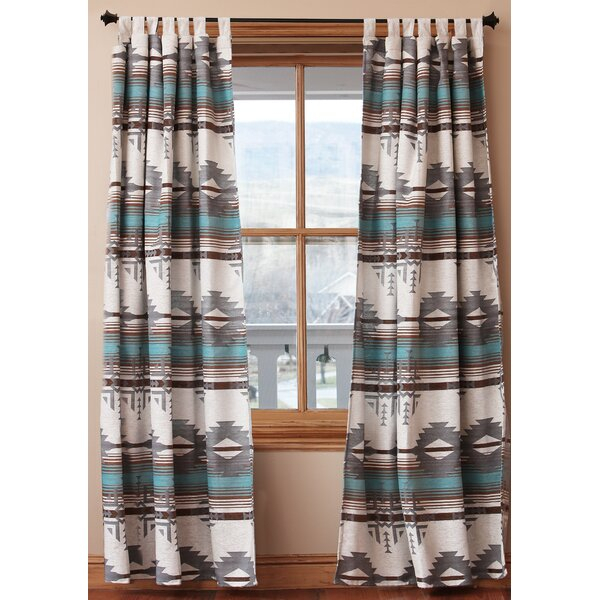 Inspiration about Desert Southwest Curtains | Wayfair.ca Inside Cyrus Thermal Blackout Back Tab Curtain Panels (#33 of 39)