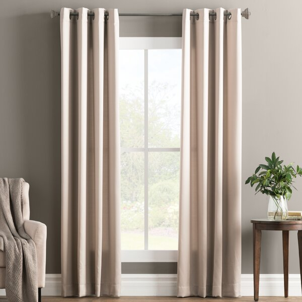 Design Decor Grommet Panels | Wayfair Regarding Prescott Insulated Tie Up Window Shade (View 45 of 45)