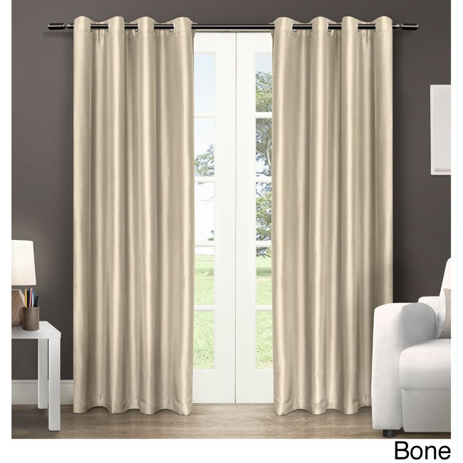 Details About Copper Grove Fulgence Faux Silk Grommet Top Panel Curtains – For Copper Grove Fulgence Faux Silk Grommet Top Panel Curtains (View 18 of 50)