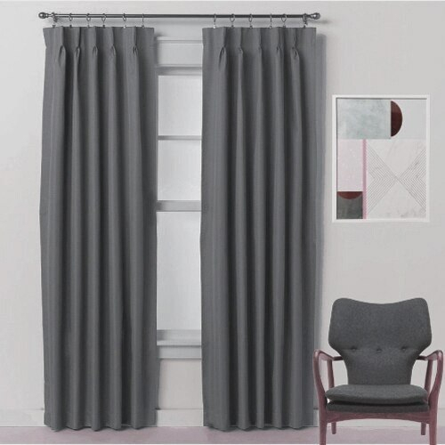 Inspiration about Diy Pinch Pleat Drapes – Goods4Good.club For Signature Pinch Pleated Blackout Solid Velvet Curtain Panels (#50 of 50)