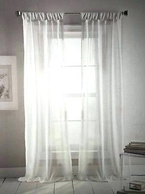 Dkny Curtain Panels – Monasteriesofspain Within Knotted Tab Top Window Curtain Panel Pairs (#11 of 50)