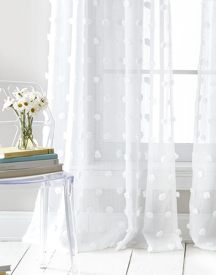 Dkny Ella Sheer Window Curtain Panel Pair / Curtainworks Throughout Ella Window Curtain Panels (View 10 of 50)