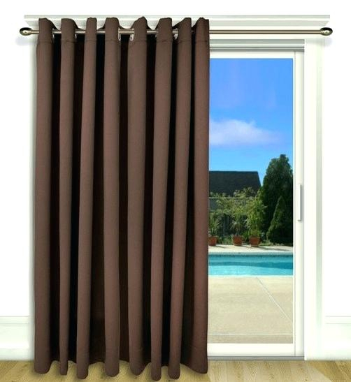 Door Curtain Panel – Theavenueae (#8 of 50)