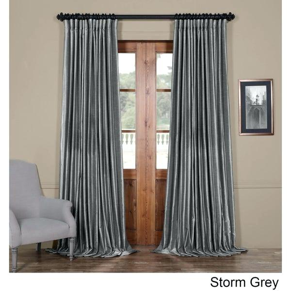 Door Panels Curtains – Mammothminds With Regard To Faux Linen Extra Wide Blackout Curtains (View 11 of 50)