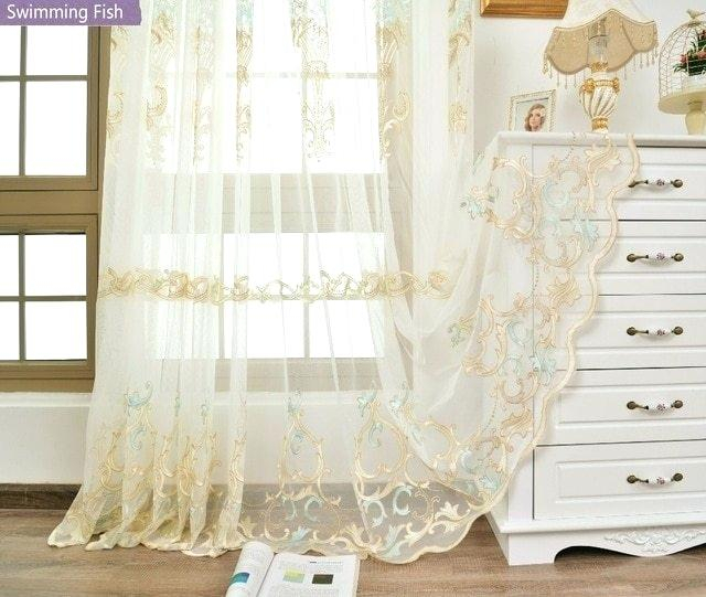 Door Sheer Curtain Panels – Lavernrison (View 6 of 50)