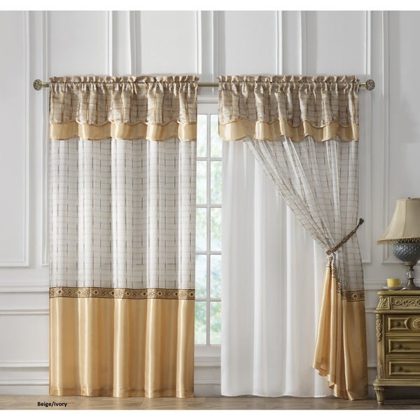 Inspiration about Double Backed Curtains With Tacoma Double Blackout Grommet Curtain Panels (#27 of 48)
