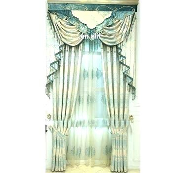Double Layer Curtains – Getzenprm With Regard To Signature White Double Layer Sheer Curtain Panels (View 43 of 50)