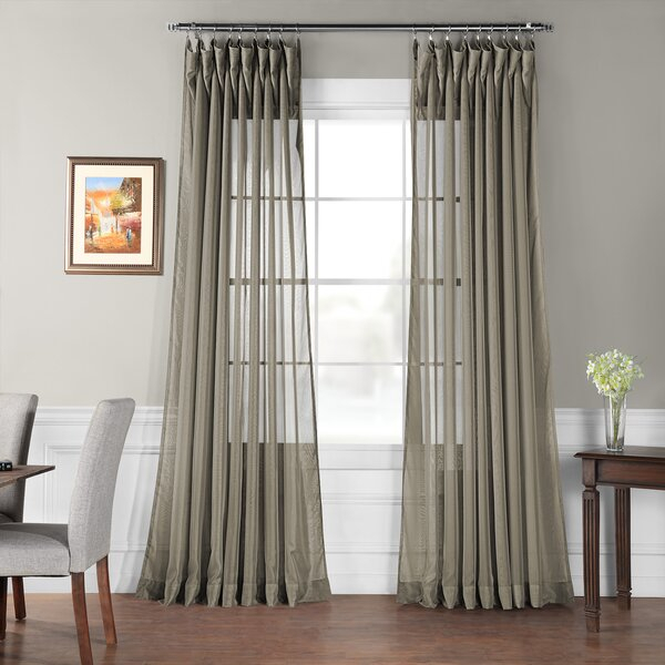 Double Layer Curtains | Wayfair (View 13 of 48)