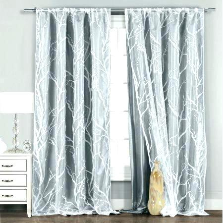 Inspiration about Double Layer Sheer Curtain Layered Curtains Window Solid Regarding Double Layer Sheer White Single Curtain Panels (#17 of 50)
