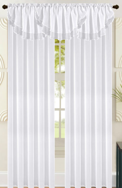Double Layer Sheer Curtains | Home Design Ideas For Signature Extrawide Double Layer Sheer Curtain Panels (#10 of 50)