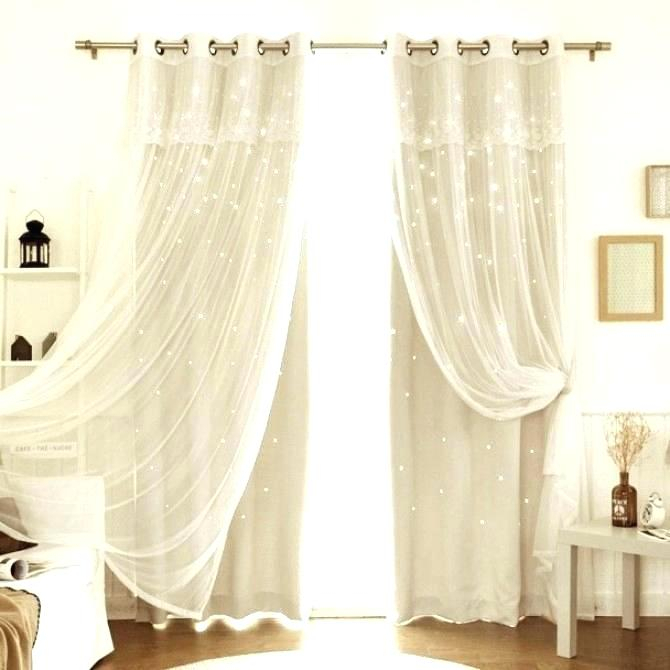 Double Panel Curtains – Mopayitforward Inside Signature Extrawide Double Layer Sheer Curtain Panels (#11 of 50)