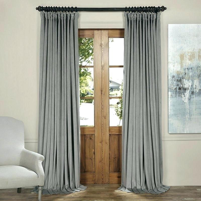 Double Rod Pocket Curtain – Parasolauto With Signature Extrawide Double Layer Sheer Curtain Panels (#12 of 50)