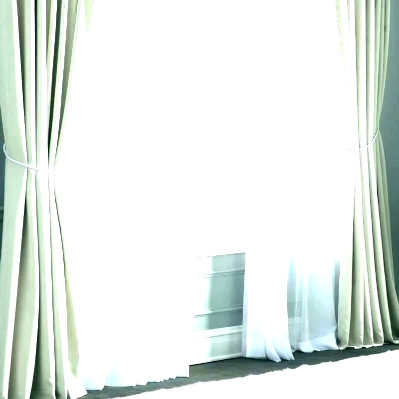 Inspiration about Double Wide Curtains Extra Sheer Curtain Panels Width Drapes For Extra Wide White Voile Sheer Curtain Panels (#19 of 50)
