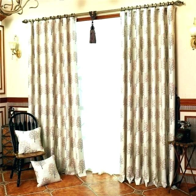 Inspiration about Double Wide Curtains – Southstrand.co With Faux Linen Extra Wide Blackout Curtains (#42 of 50)