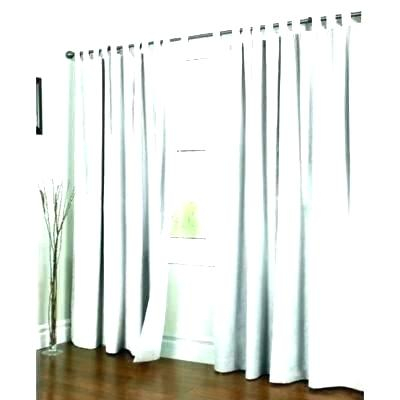 Inspiration about Double Width Curtains Drapes Wide Grommets Velvet Drapery Throughout Signature Pinch Pleated Blackout Solid Velvet Curtain Panels (#27 of 50)
