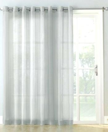Double X Curtains Curtain Panel Extra Wide For Patio Doors With Signature Extrawide Double Layer Sheer Curtain Panels (#17 of 50)