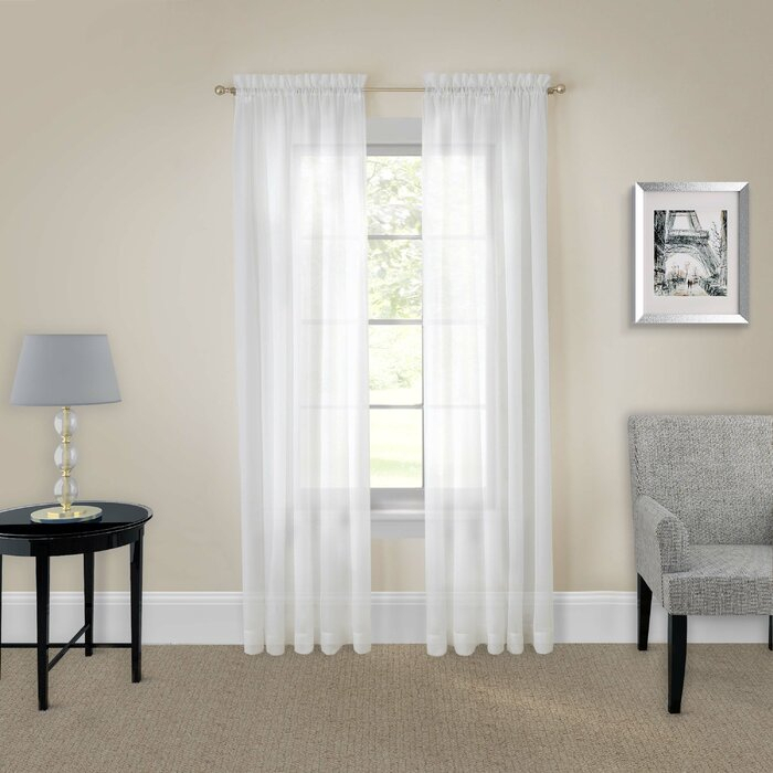Doyle Single Curtain Panels With Regard To Single Curtain Panels (View 35 of 36)