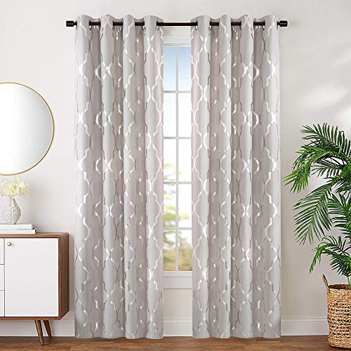 Draperies & Curtains – Miami Auction Express Throughout Primebeau Geometric Pattern Blackout Curtain Pairs (#12 of 38)