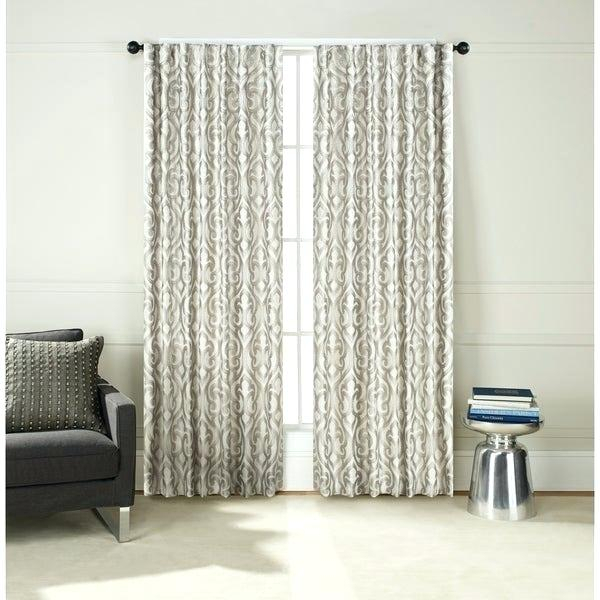 Inspiration about Drapery Pocket – Odawalkes.co For Tuscan Thermal Backed Blackout Curtain Panel Pairs (#40 of 46)