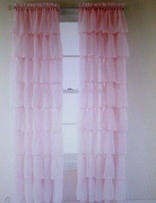 """Inspiration about Drapes Dark Orange Floral New 63"""" Length X 60"""" W – $24.99 In Gray Barn Dogwood Floral Curtain Panel Pairs (#15 of 48)"""