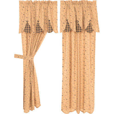 """Inspiration about Drapes Dark Orange Floral New 63"""" Length X 60"""" W – $24.99 Throughout Gray Barn Dogwood Floral Curtain Panel Pairs (#43 of 48)"""