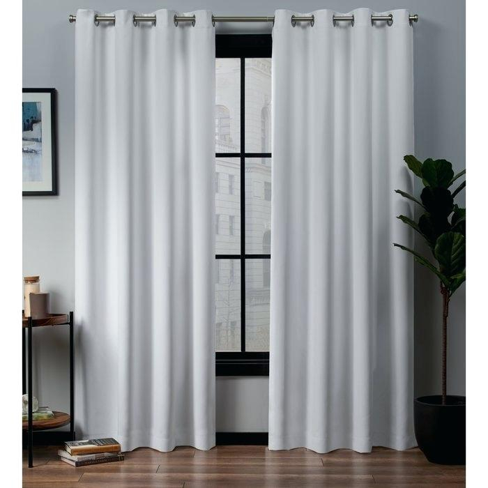 Inspiration about Drapes With Grommets – Fourbymotor.co Intended For Grommet Curtain Panels (#35 of 39)