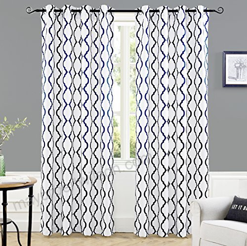 Driftaway Geovany Room Darkening/thermal Insulated Grommet Inside Geometric Print Textured Thermal Insulated Grommet Curtain Panels (View 18 of 45)