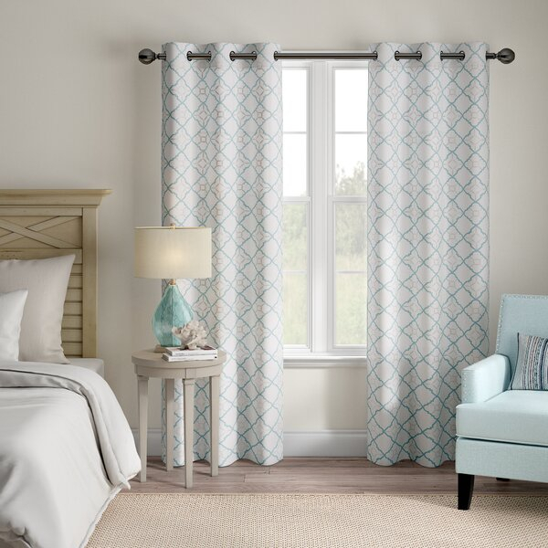 Duck Cloth Curtains | Wayfair Throughout Davis Patio Grommet Top Single Curtain Panels (View 31 of 39)