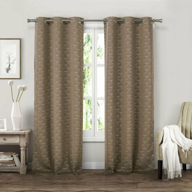 """Inspiration about Duck River Miso Grommet Curtain Panel Pair – 37X84"""" Wine 37X84"""" In Velvet Heavyweight Grommet Top Curtain Panel Pairs (#14 of 42)"""