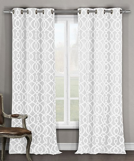 Inspiration about Duck River Textile White Harris Blackout Grommet Curtain Pertaining To Blackout Grommet Curtain Panels (#35 of 40)
