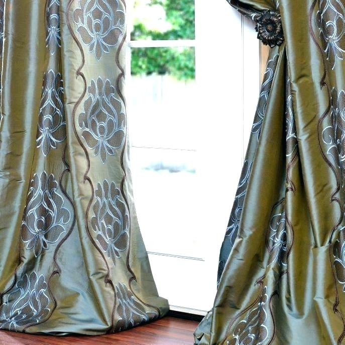 Inspiration about Dupioni Silk Curtains – Electrotechnika In Vintage Faux Textured Dupioni Silk Curtain Panels (#49 of 50)
