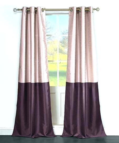 Inspiration about Dupioni Silk Curtains Rose Blush Vintage Textured Faux Silk Within True Blackout Vintage Textured Faux Silk Curtain Panels (#43 of 50)