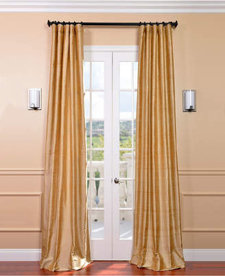 Dupioni Silk Curtains – Shopstyle Throughout Evelina Faux Dupioni Silk Extreme Blackout Back Tab Curtain Panels (View 6 of 33)