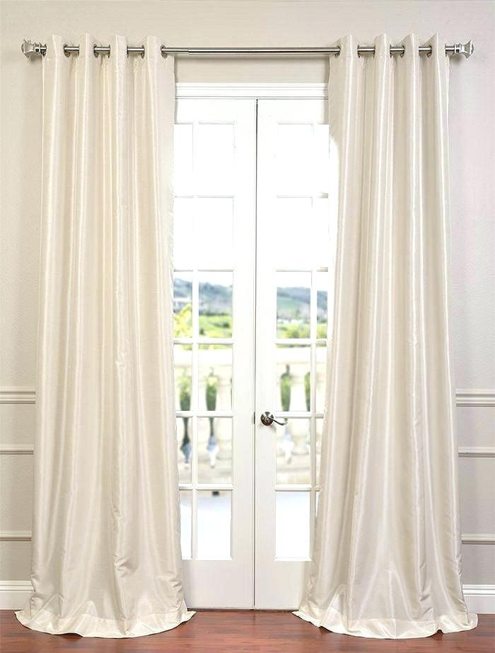Inspiration about Dupioni Silk Drapes – Doctorencasa With True Blackout Vintage Textured Faux Silk Curtain Panels (#28 of 50)