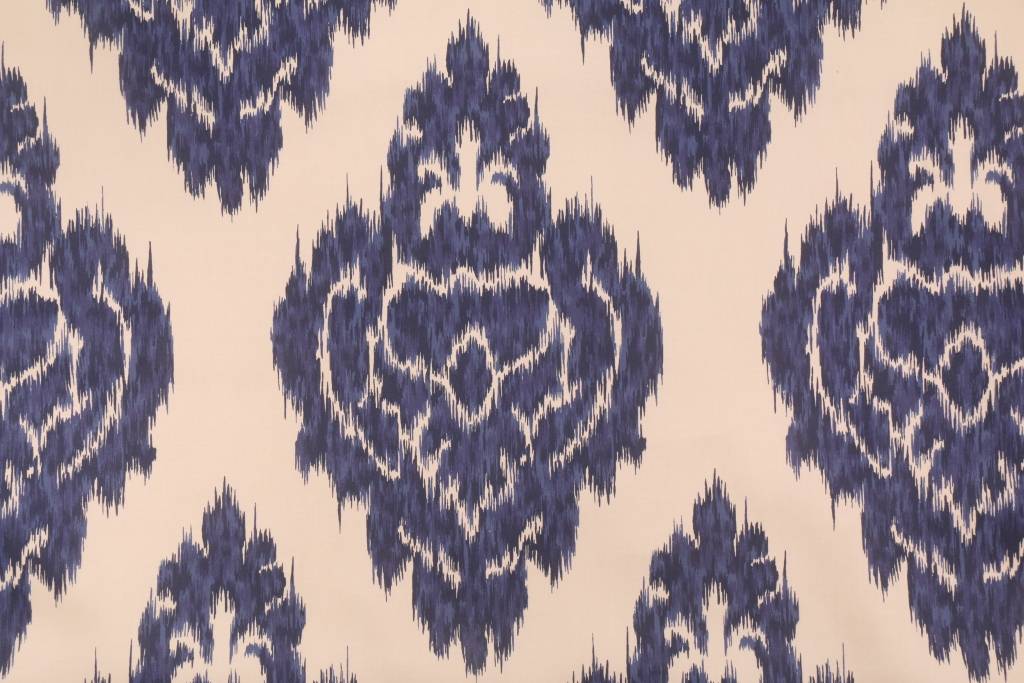 Duralee 20862 Printed Ikat Cotton Drapery Fabric In 5 Blue $ (#17 of 50)