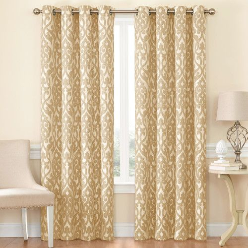 Duran Insulated Max Blackout Thermal Grommet Single Curtain Within Duran Thermal Insulated Blackout Grommet Curtain Panels (#12 of 29)