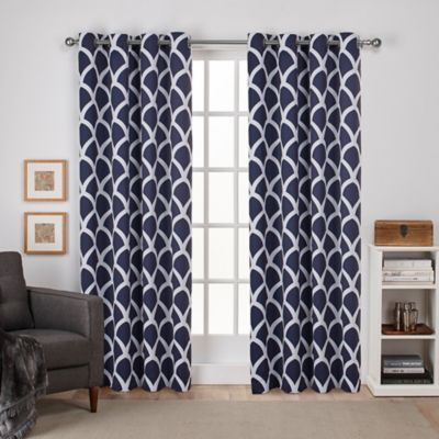 """Durango 84"""" Grommet Top Room Darkening Window Curtain Panel Within The Curated Nomad Duane Jacquard Grommet Top Curtain Panel Pairs (#10 of 50)"""