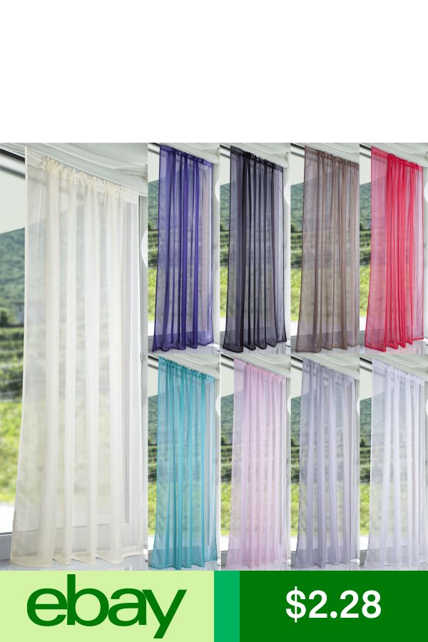Ebaycurtains & Valances Home & Garden With Regard To Chester Polyoni Pintuck Curtain Panels (#6 of 26)