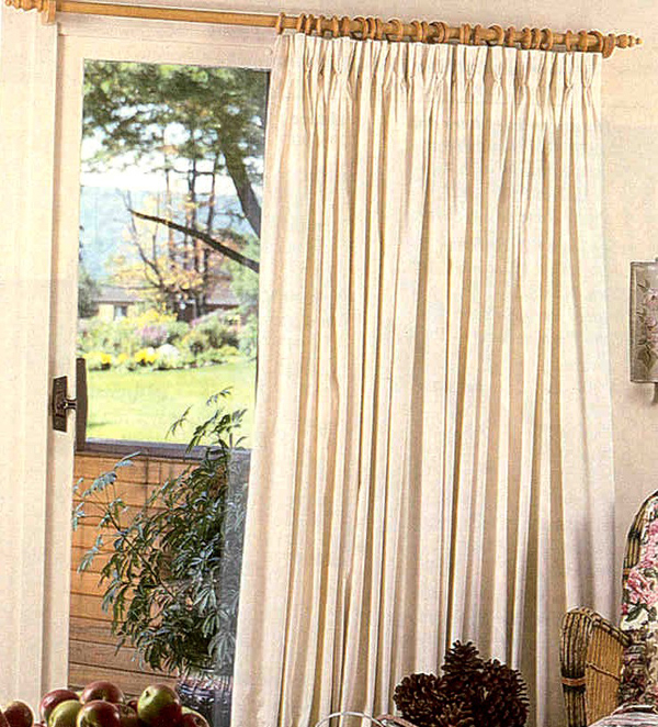 "Ec Group C Custom Pinch Pleated Curtain Pairs – 150"" Wide Pertaining To Double Pinch Pleat Top Curtain Panel Pairs (#16 of 50)"