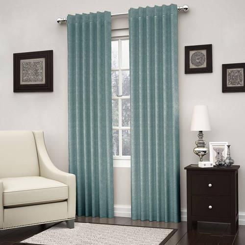 Eclipse 15579052108Spa Kenley Blackout Window Curtain Panel, 52X108, Spa In Eclipse Trevi Blackout Grommet Window Curtain Panels (View 7 of 26)