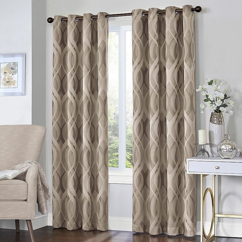 Popular Photo of Eclipse Caprese Thermalayer Blackout Window Curtains