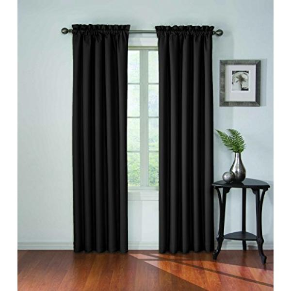 Eclipse Curtains – Buy Eclipse Curtains At Best Price In Throughout Eclipse Darrell Thermaweave Blackout Window Curtain Panels (#13 of 50)